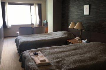 Western twin room