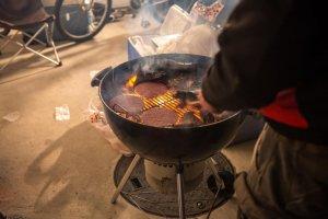 Barbecue at Backpackers Miyajima