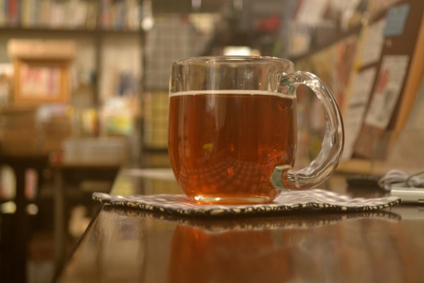 A pale ale from a Hokkaido brewery was on tap on a recent evening.