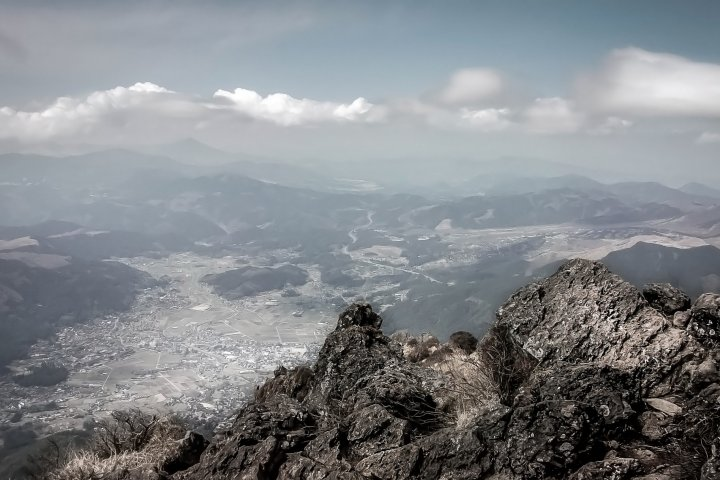 Hiking Mount Yufu dake