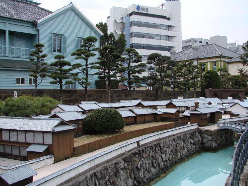 A scale model of Dejima