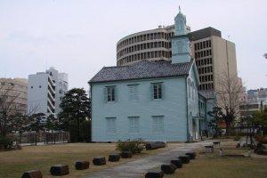 Dejima's old Protestant seminary