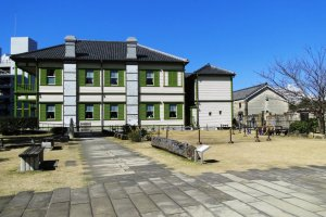 The Nagasaki International Club on Dejima