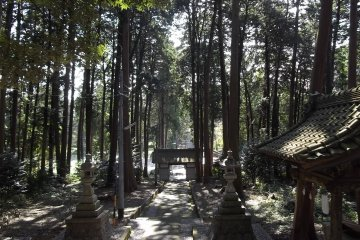 Shiigawaki Shrine Near Hamamatsu