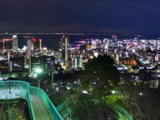 Panoramic view of Kobe City