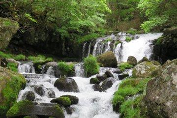 Tateshina Otaki Falls