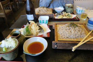 Nagano Prefecture is known for its tasty Soba