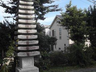 A stately pagoda