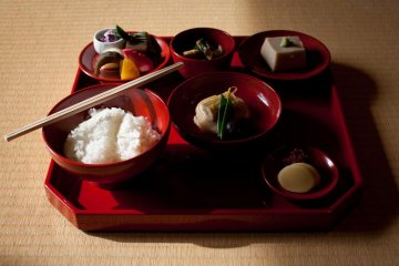 La Cuisine Zen de Shigetsu à Kyoto
