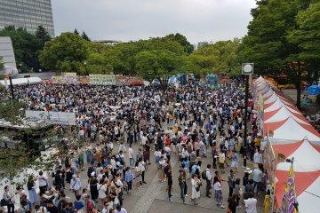 เทศกาลเวียตนามในสวนโยะโยะกิ
