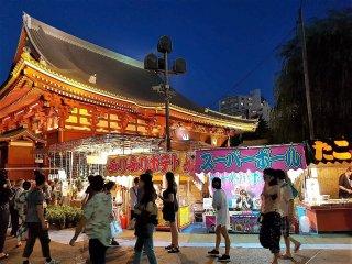 หนึ่งในงานเทศกาลหลากหลายของวัดเซ็นโซะจิ (Sensoji) แห่งอะสะคุสะ (Asakusa) วัดที่คนไทยตั้งชื่อให้ใหม่ว่า 'วัดอะสะคุสะ'ที่จัดให้มีขึ้นตลอดทั้งปี