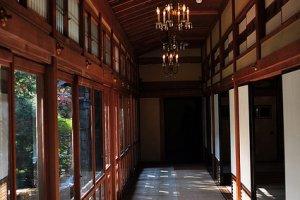 The interior retains a certain elegance of a bygone era.
