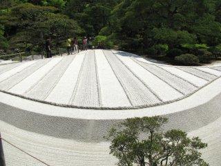 Фрагмент сада песка
