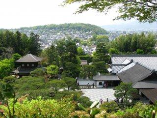 Вид на Киото