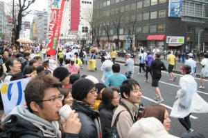 Going through Ginza