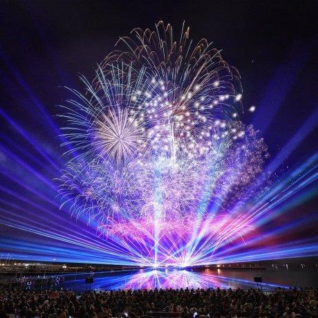 Special Fireworks at Huis Ten Bosch