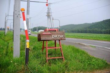 Picnic Cafe in Biei