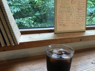 Un café glacé