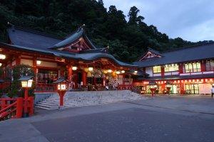 Taikodani Inari Shrine, the place of the Night Kagura
