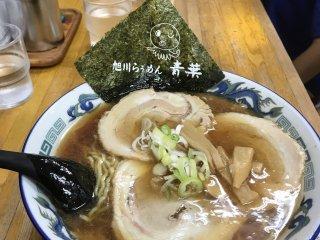 Delicious shoyu ramen