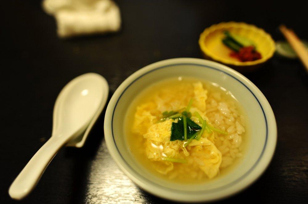 Zosui rice porridge