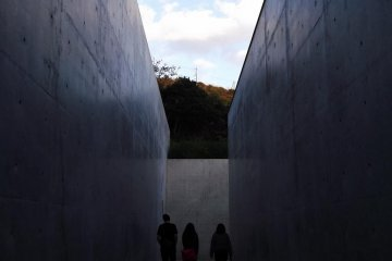 <p>Exiting to the open air and freedom</p>