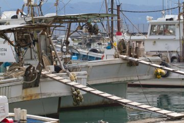 Fishing boats make for great photo subjects