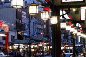 Уютная атмосфера улицы