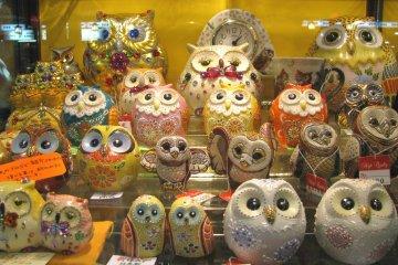 Совы из керамики