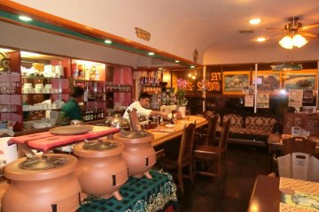 Inside Hanthana restaurant