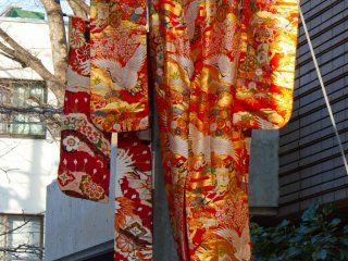 Great kimono decoration