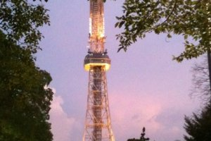TV Tower seems to change with the time of day and seasons