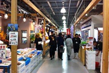 Seafood aisle