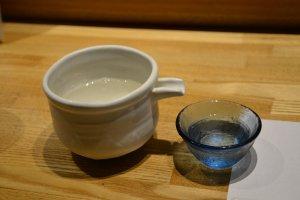 京都伏見の地酒が美味しい