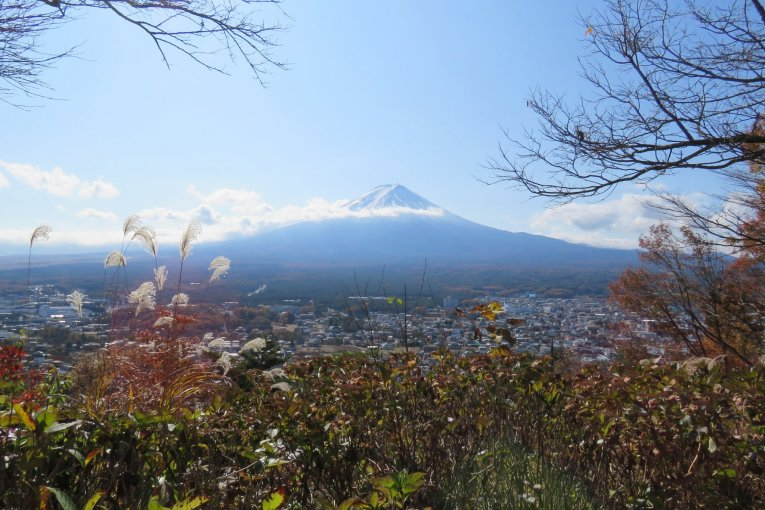 Fuji-San in the Fall