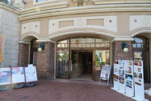 Entrance to Enoshima Island Spa