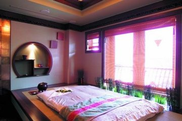 Beng Teng Spa Tatami Room for pregnant women