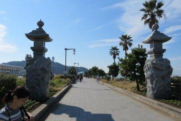 Bridge to Enoshima Island