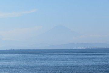 Mt Fuji in the background