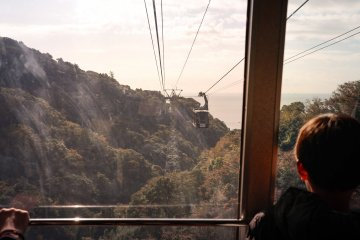 Nihondaira Ropeway: Views of Mt. Kuno