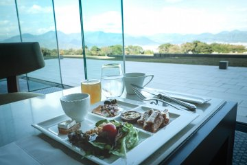 Nippondaira Hotel: Lunch at The Terrace