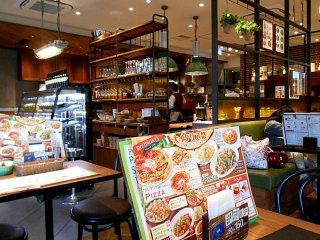 Nhà hàng kiểu Ý nhưng đậm phong cách Nhật Bản hiện đại