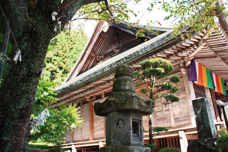 The Konponchudo Hall is Yamadera's oldest building.