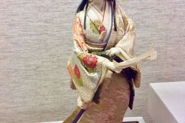 A doll capturing the movement of dance