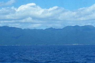 Из Ниигаты до острова Садо на теплоходе