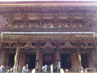 요시노 산의 기도 중심지인 긴푸센지 절