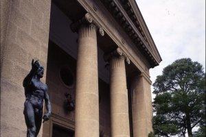 المدخل إلي متحف أرهاوا