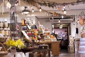 Winery Store interior