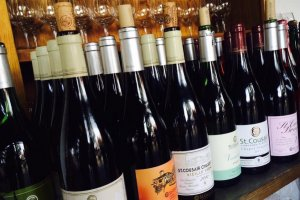 A variety of wines to choose from