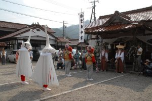 Otabisho, the last station of the ceremony. This is where the deity stays for a week